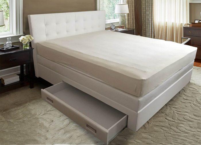 King krevet ladica